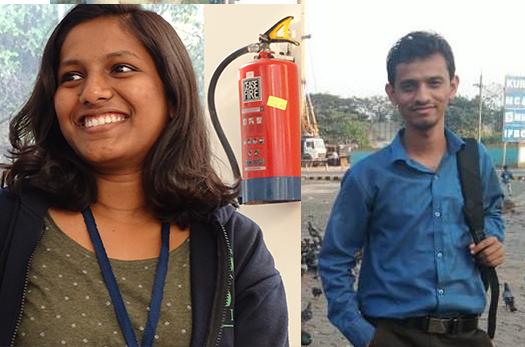 K Swathi Sivadas and Mayur Kudupale